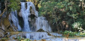 Backpack route Laos